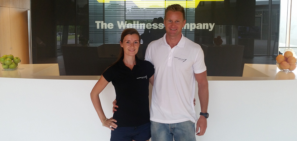 Frank Naundrup & Lena Lionett Founders of Marbella Fitness Camp