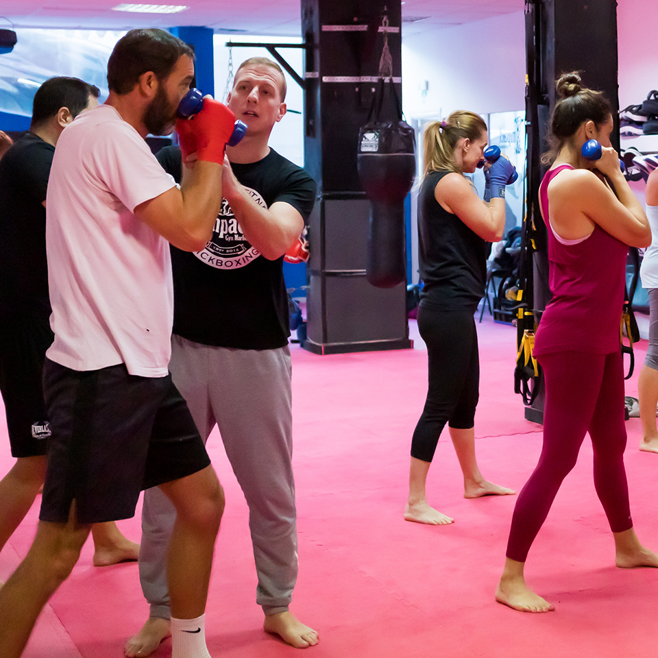 Shaun James -Kickboxing/Boxing Head Trainer/Owner at Impact Gym Marbella 007
