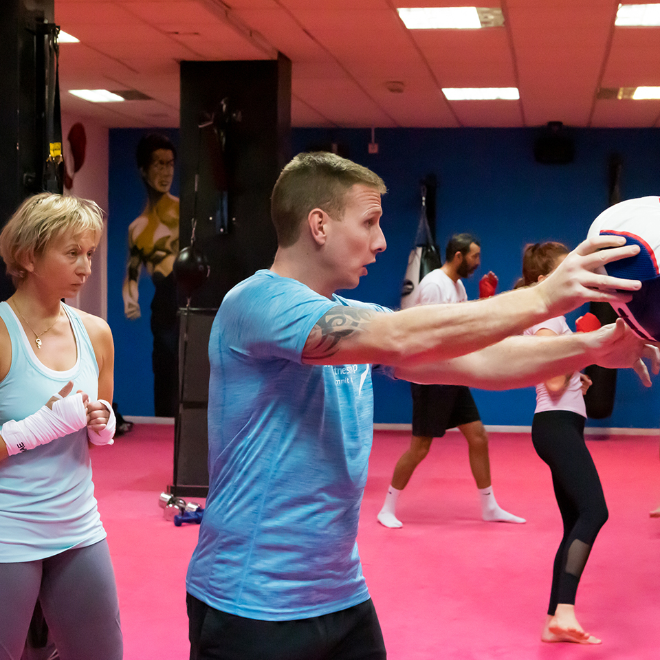 Shaun James -Kickboxing/Boxing Head Trainer/Owner at Impact Gym Marbella 011