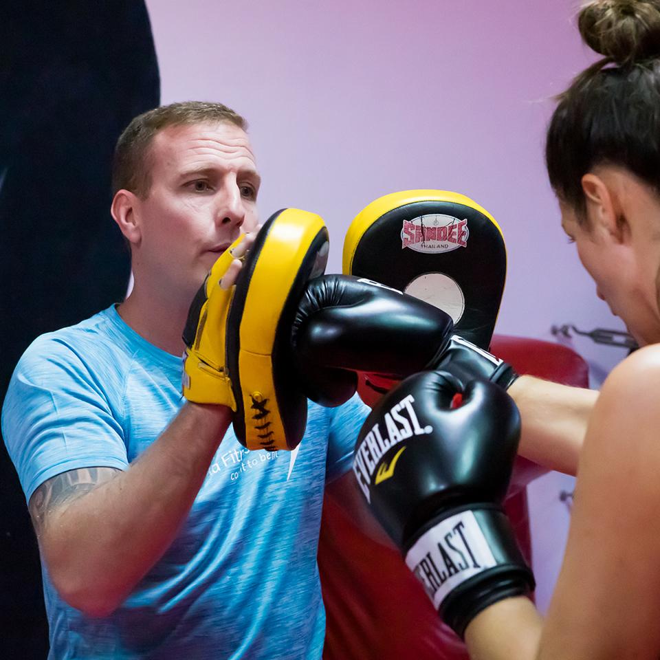 Shaun James -Kickboxing/Boxing Head Trainer/Owner at Impact Gym Marbella 012