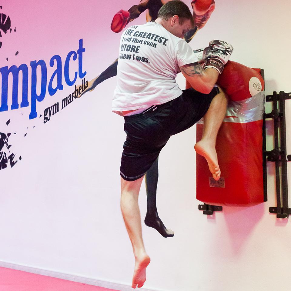 Shaun James -Kickboxing/Boxing Head Trainer/Owner at Impact Gym Marbella 015